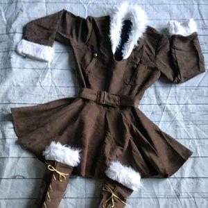 Viking Costume Size XL more like a Large